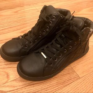 Steve Madden Caffeine Leather Sneakers
